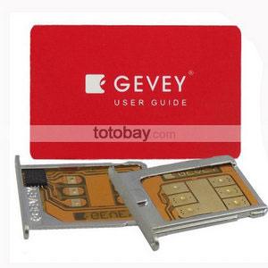 Gevey SIM card, Гевей СИМ карта