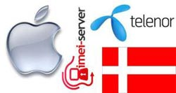 Unlock iPhone Telenor Denmark