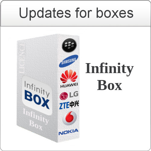Update Infinity Box `SM` software v1.11