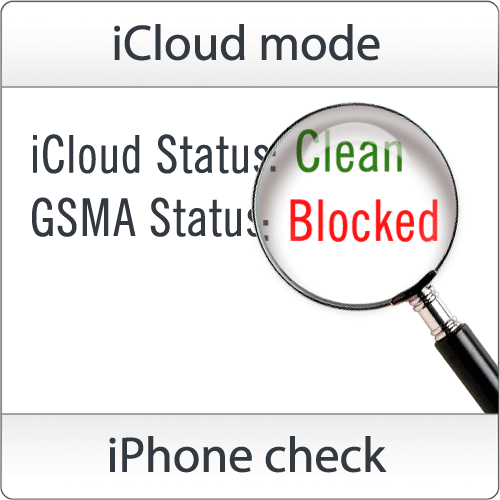 Check iPhone, iPad iCloud: [Clean/Lost] by SN